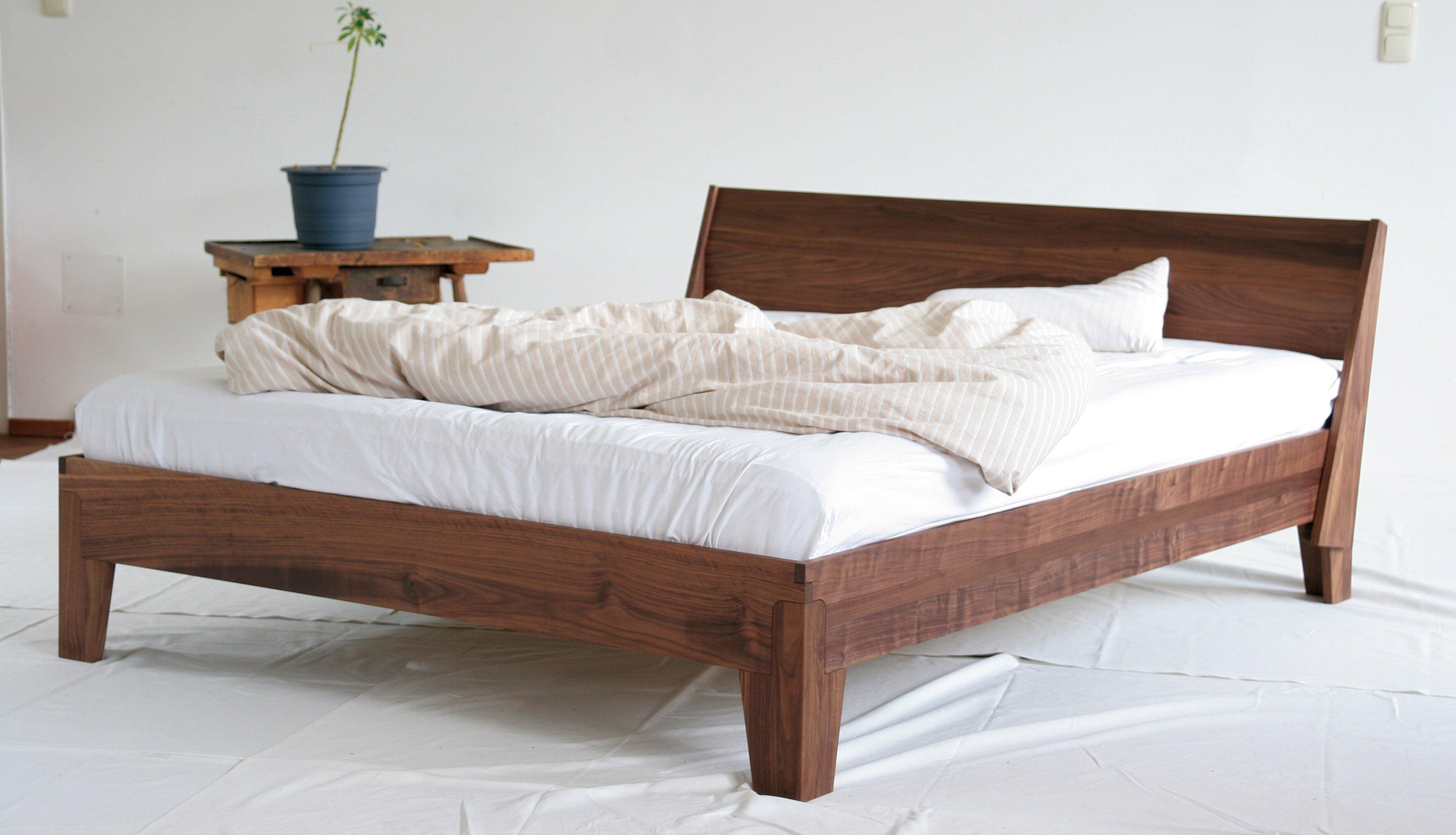 Verzauberkunst Bett Mit Lehne Dekoration Von