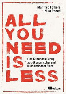 "Buch ""ALL YOU NEED IS LESS"""
